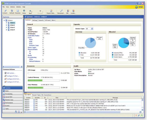 3PAR InForm Management Console