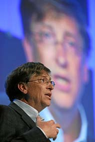 Bill Gates Sides With Ballmer, MSFT On China