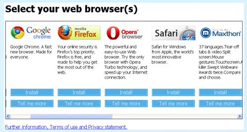 Browser-Choice-Screen