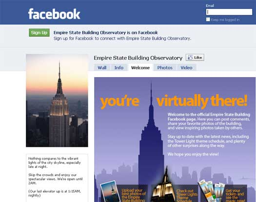 The Empire State Building Joins Facebook And Twitter