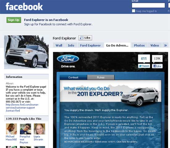 Explorer-Facebook
