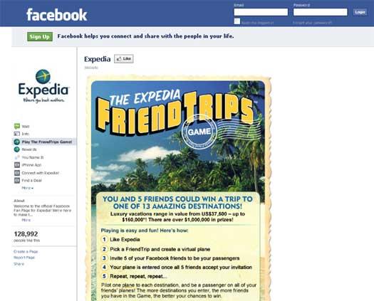 Facebook-Expedia