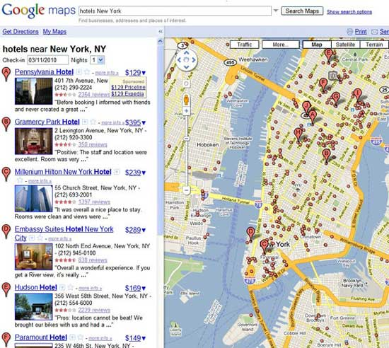 Google Testing Hotel Pricing In Maps