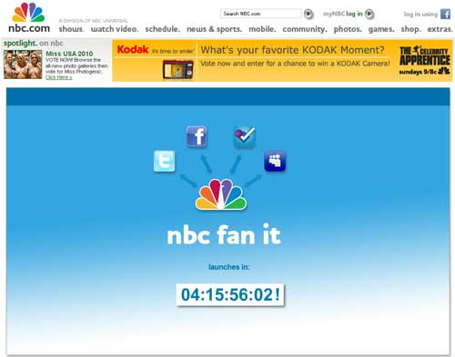 NBC Turns To Twitter And Facebook To Promote Shows