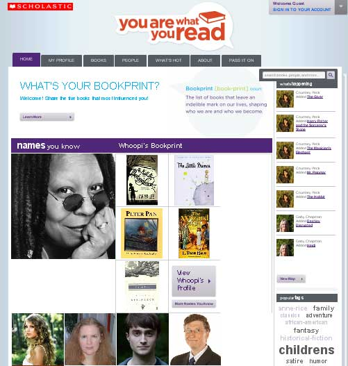 Scholastic Launches Social Network Focused On Reading