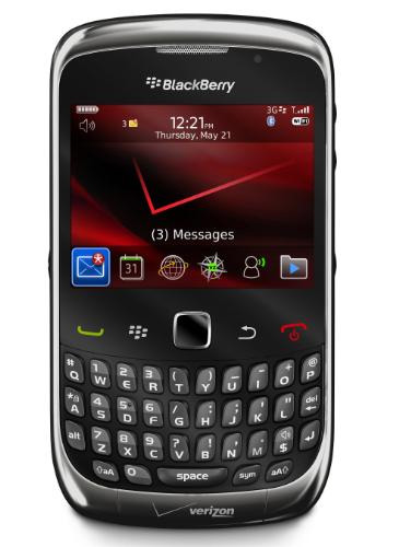 BlackBerry Curve 3G From Verizon