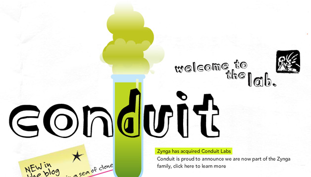 Zynga Buys Social Game Company Conduit Labs