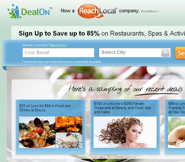 DealOn Now a ReachLocal company