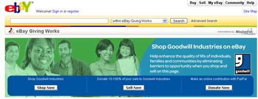 eBay-Goodwill