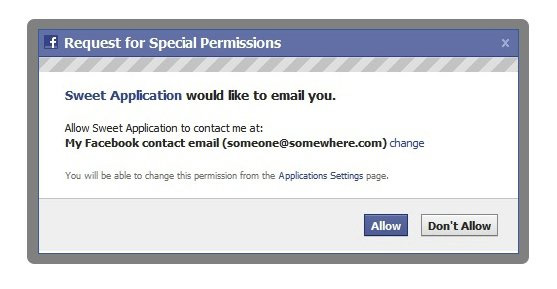 Facebook Letting App Users Get Notifications Through Email