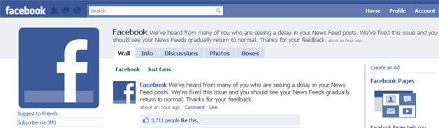 Facebook Fixes News Feed, Still Irritates Users