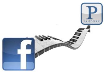 Facebook and Pandora Get Integrated