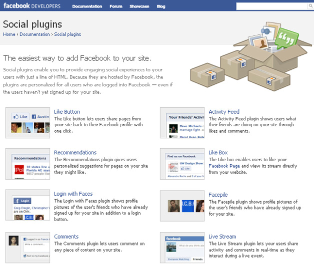 Facebook Social Plugins - They Will Drive You Traffic