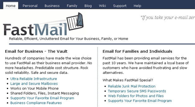 Fastmail now a part of Opera