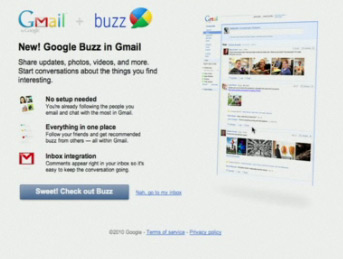 Google Buzz - Is it scraping Content?