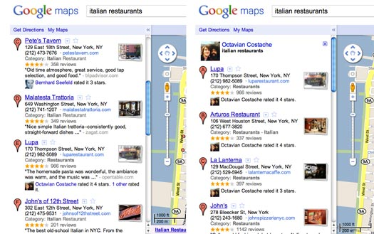 Google Maps Hotpot Integration