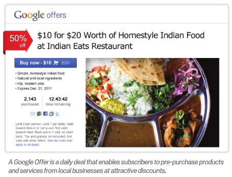 Google Offers Set to Take on Groupon?