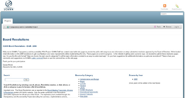 ICANN Launches New Wiki