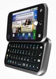 Motorola Backflip comes with Yahoo
