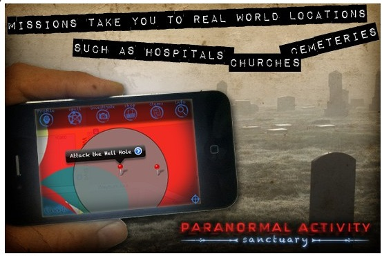 Ogmento's Paranormal Activity Game Uses Augmented Reality