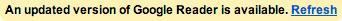 Google Reader Updates
