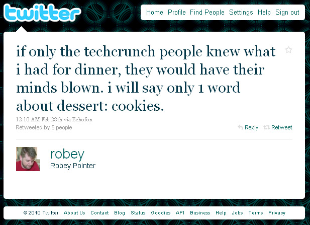 Twitter mocks TechCrunch over new feature speculation?