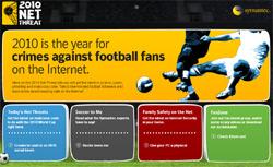 Symantec's World Cup Site
