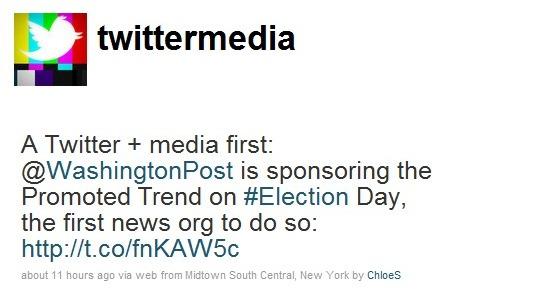 Twittermedia Tweets about WashingtonPost