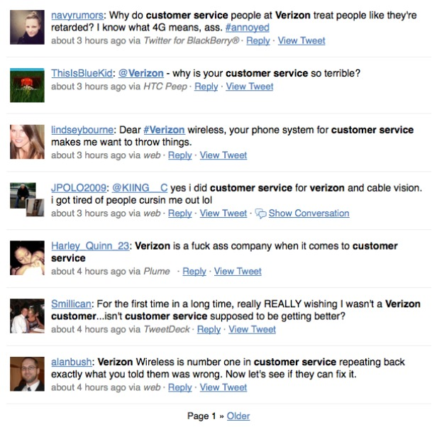 Verizon Costumer Support & Verizon Customer Service Phone