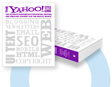 Yahoo Style Guide Addresses Web content creation