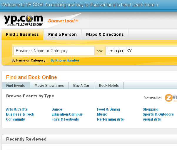 YP.com launched as the new Yellowpages.com
