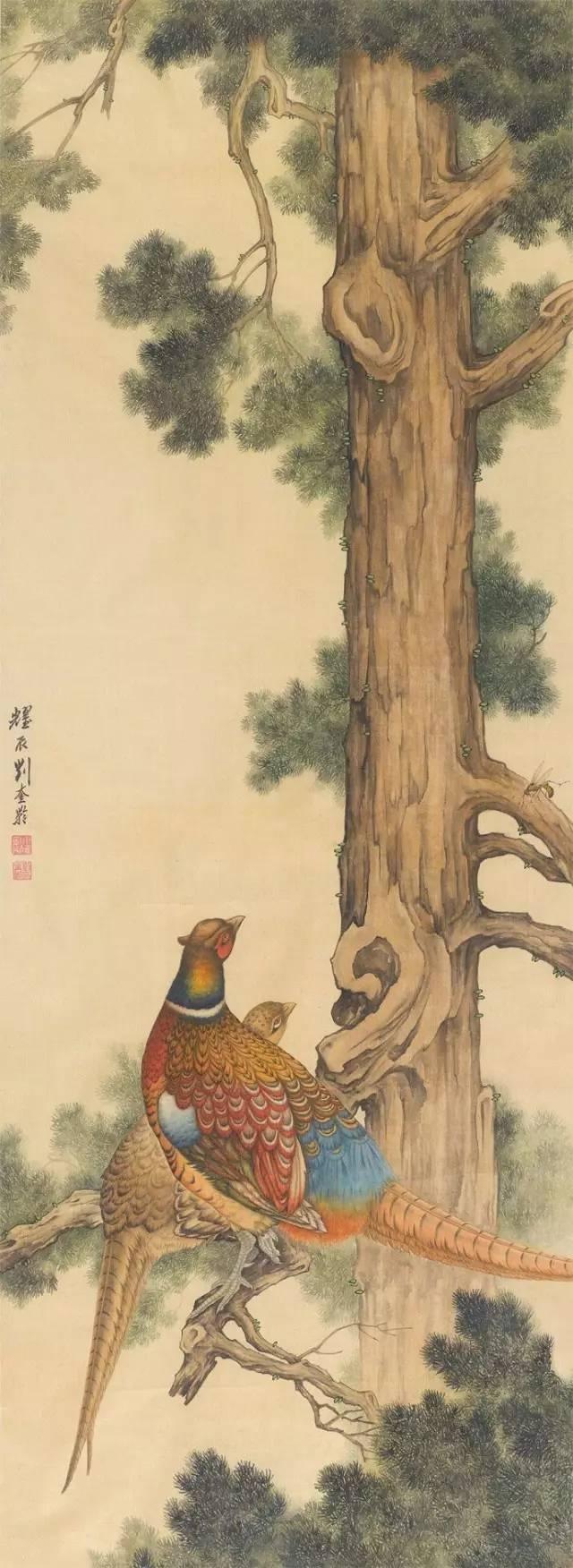 一代宗師劉奎齡工筆畫欣賞。百幅高清。視覺盛宴!-趣讀