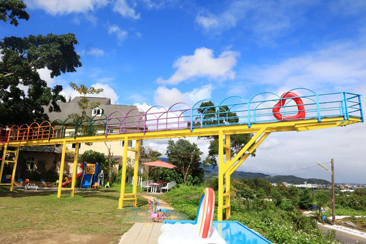 [宜蘭]A‧maze兔子迷宮咖啡餐廳~最美天空步道/最佳觀賞龜山島點/適合放空發呆一整天 - ifunny 艾方妮的遊樂場