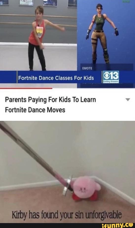 Kirby Fortnite Dance : kirby, fortnite, dance, Parents, Paying, Learn, Fortnite, Dance, Moves, IFunny