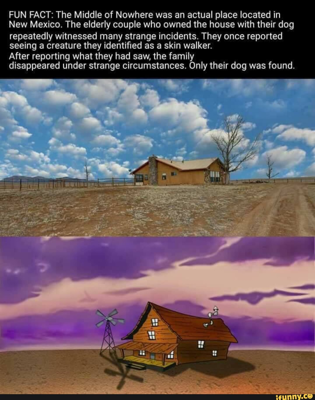 The Middle Of Nowhere New Mexico : middle, nowhere, mexico, FACT:, Middle, Nowhere, Actual, Place, Located, Mexico., Elderly, Couple, Owned, House, Their, Repeatedly, Witnessed, Strange, Incidents., Reported