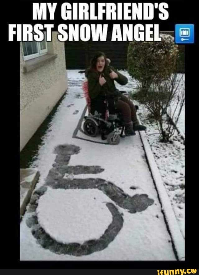 First Snow Meme : first, GIRLFRIEND'S, FIRST¡SNOW, ANGEL., IFunny