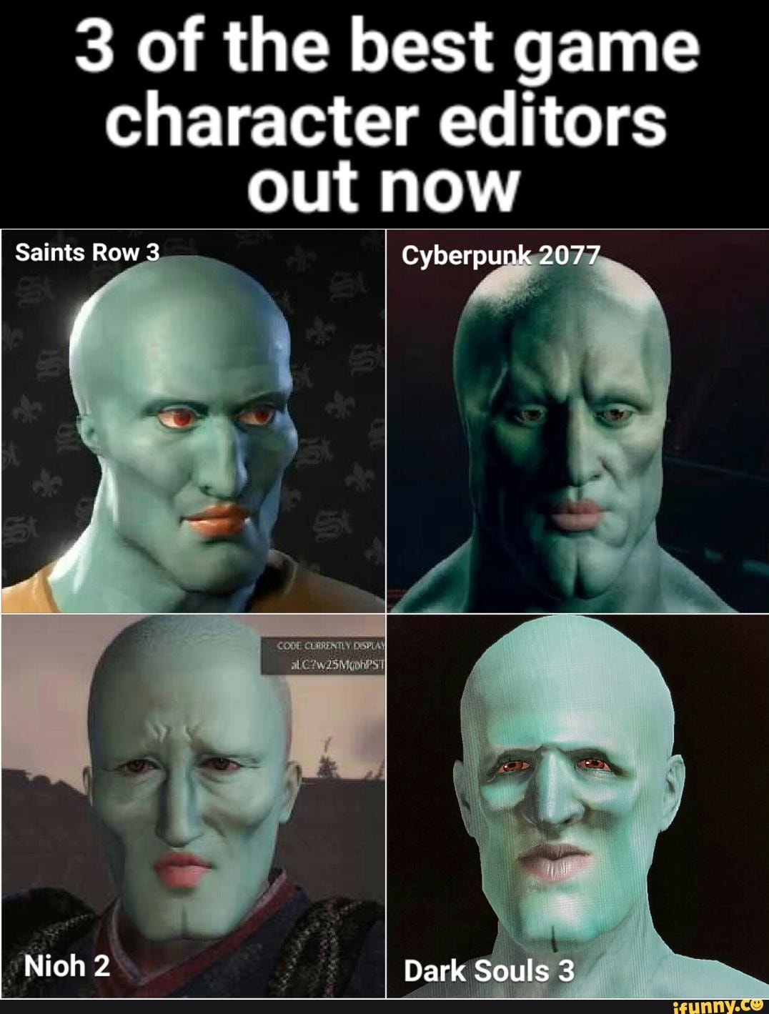 Cyberpunk 2077 Squidward : cyberpunk, squidward, Character, Editors, Saints, Cyberpunk, Souls, IFunny