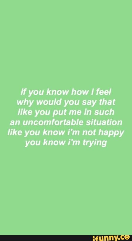 Kim Kardashian You Know How I Feel : kardashian, Would, Uncomfortable, Situation, Happy, Trying, IFunny