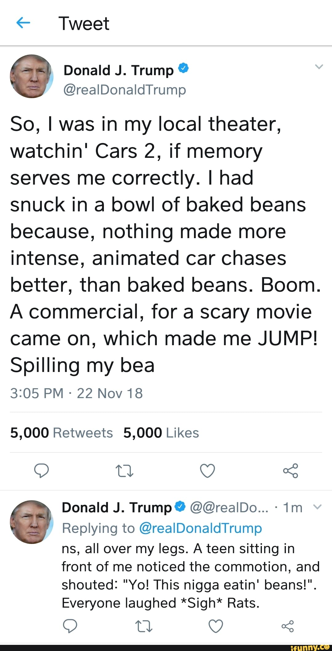 Cars 2 Beans : beans, IocaI, Theater,, Watchin', Memory, Serves, Correctly., Snuck, Baked, Beans, Because,, Nothing, Intense,, Animated, Chases