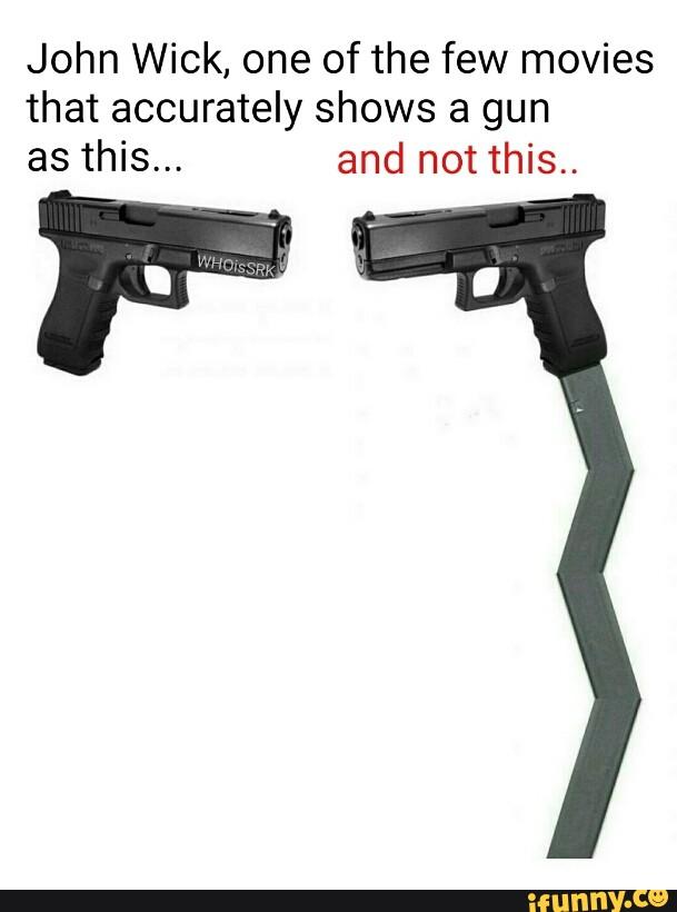 John Wick Gun Meme : Download, Reloading