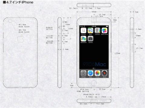 L'iPhone 6 aurait une définition de 1 704 x 960 pixels