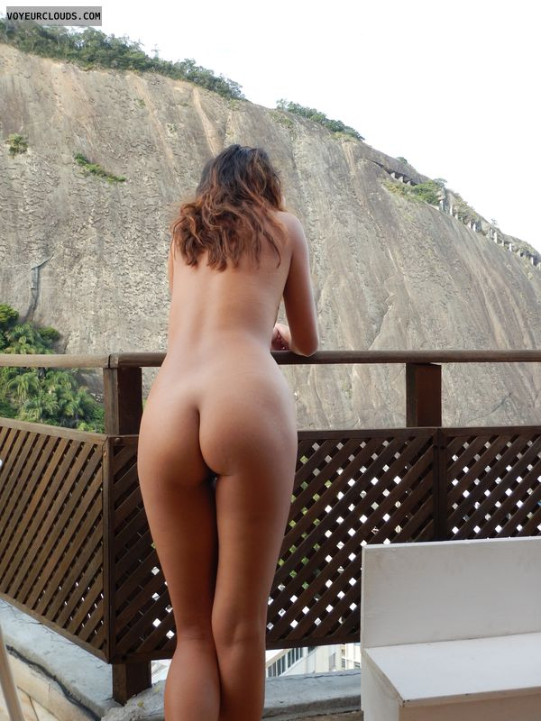 Round Ass Round Butt Naked Wife Nude Wife Back View