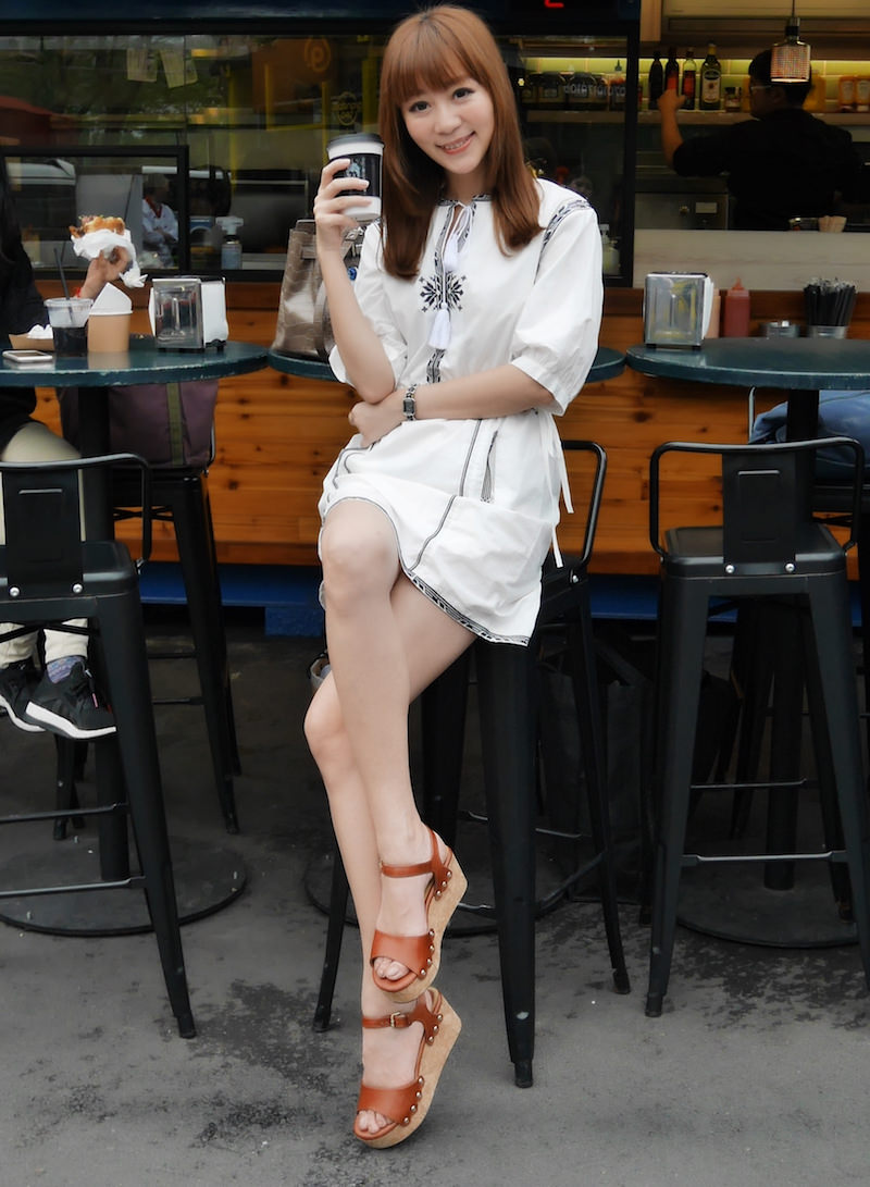 Bussola好穿好走的美鞋代名詞♥ 來自義大利的時尚經典♥2017兩款夏日必備美腿涼鞋示範穿搭(≧∇≦)/ - 蘋果咬 ...