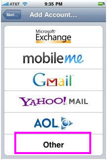 Configure iPhone for NiceNIC POP Email Accounts - NiceNIC.NET