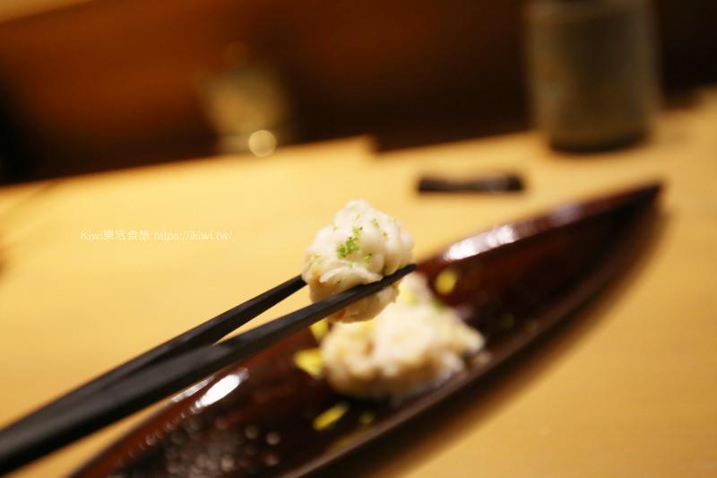 臺北日式料理推薦|匠壽司 客製化無菜單料理 當季新鮮食材呈現完美的層次風味 - Kiwi 樂活食旅