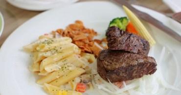 彰化吉品紐約牛排餐廳推薦|豬排雞排魚排牛排套餐280元起,免費自助吧吃到飽不收服務費,超值排餐創意料理推薦