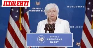 """Bidenin tuleva valtiovarainministeri tienannut miljoonia puheillaan Wall Streetin pankeille – """"Todella hälyttävää"""""""