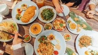 台北中山湄泰廚房。百元平價泰式套餐(點主餐送甜點)