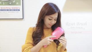 日本超夯好物推薦!KOIZUMI小泉音波磁氣美髮梳(教你正確的梳頭方法+按摩頭皮)
