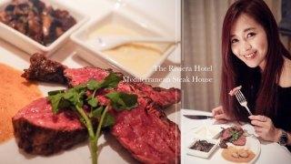 台北歐華酒店地中海牛排館。熟成30天上蓋肉牛排大餐